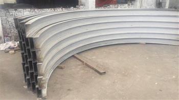 【工字钢弯圆】的生产工艺和应用