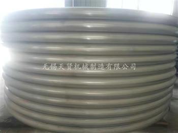 半圆管上的抛光作用
