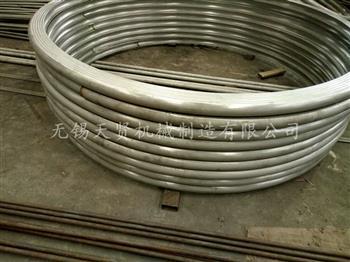 半圆管材质强度的分析