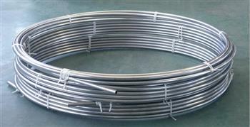 【不锈钢盘管】进行冷却定型的方法