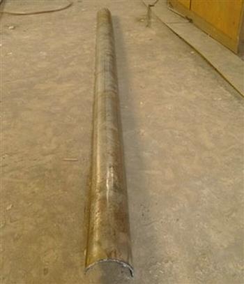 直半圆管可以作为隧道专用半圆排水管来用